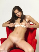 Elvira Red Chair Part1 Hegre Beauty