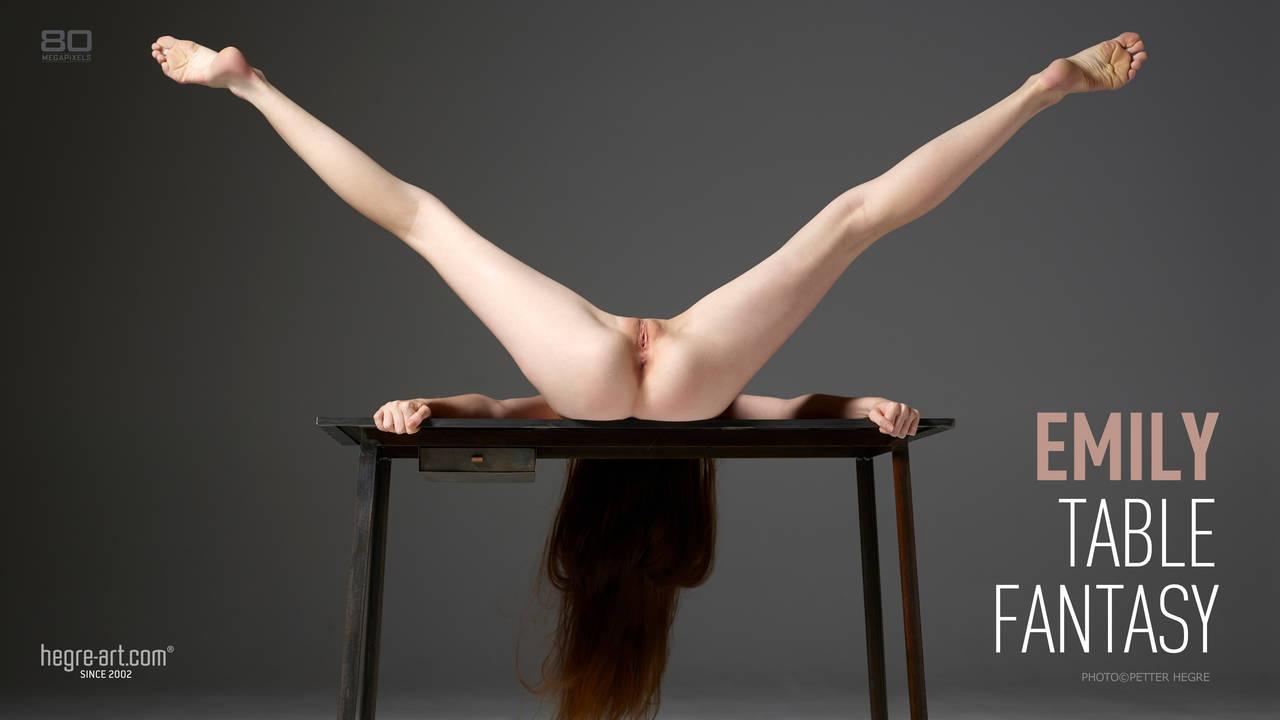 Emily Table Fantasy-hegreart  poster
