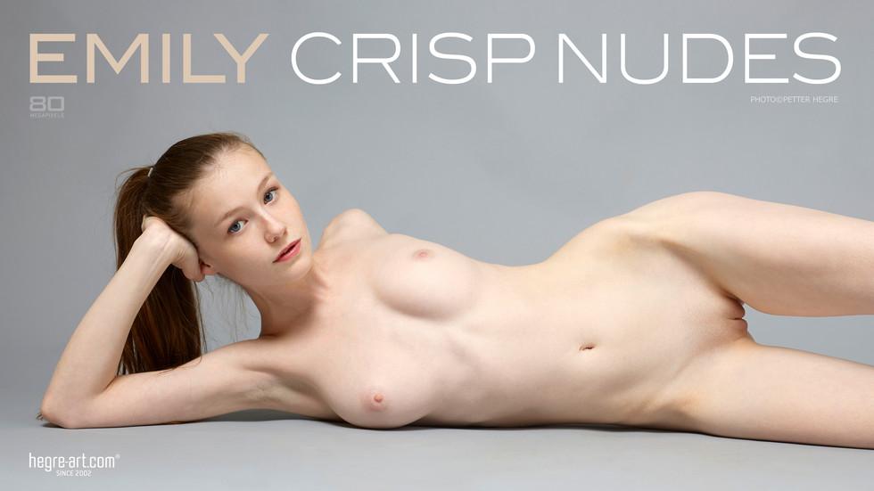 Emily Crisp Nudes  hegre poster