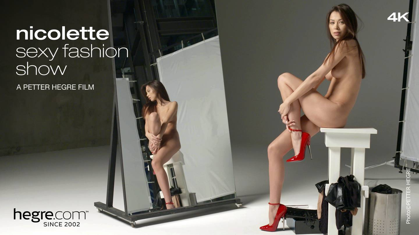 nicolette-sexy-fashion-show-hegre.com video