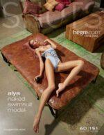 Hegre.com – Alya naked swimsuit model